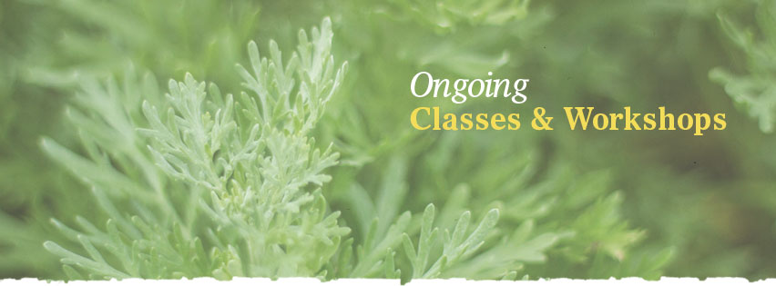 How to become an herbalist: Ongoing courses