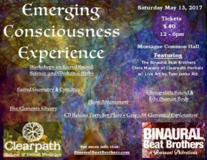Emerging Consciousness Experience @ Montague Common Hall  | Montague | Massachusetts | United States