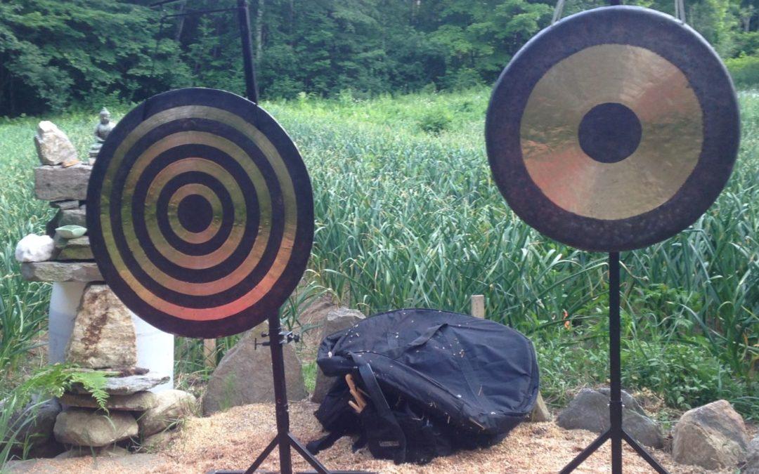 Gongs in the Garden