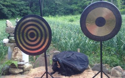 Gongs in the Garden